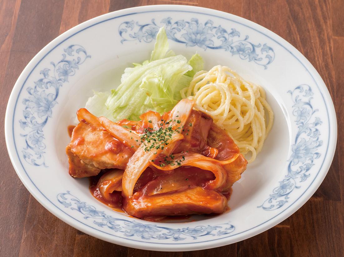 テイクアウト【弁当】ポークチャップ弁当 ¥850(税抜)