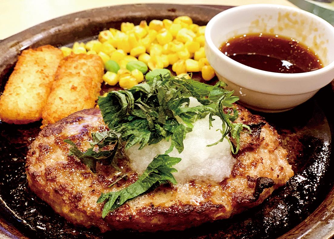テイクアウト【弁当】おろしハンバーグ弁当 ¥850(税抜)