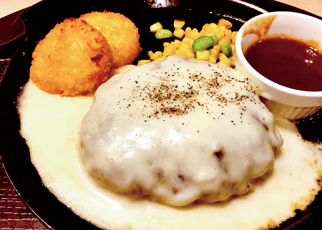 テイクアウト【弁当】チーズハンバーグ弁当 ¥850(税抜)
