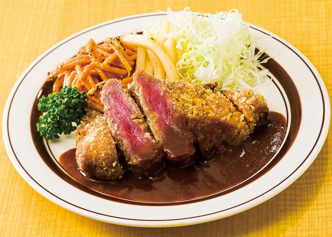 テイクアウト【弁当】ビーフカツ弁当 ¥950(税抜)