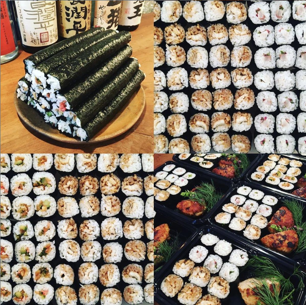 巻寿司弁当