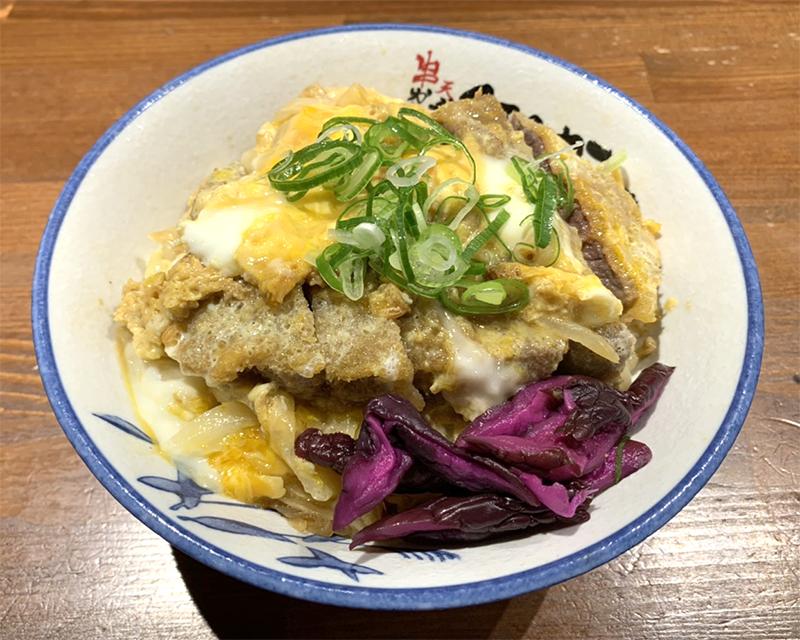 【テイクアウト】牛ロースかつ丼 ¥1,480(税抜)