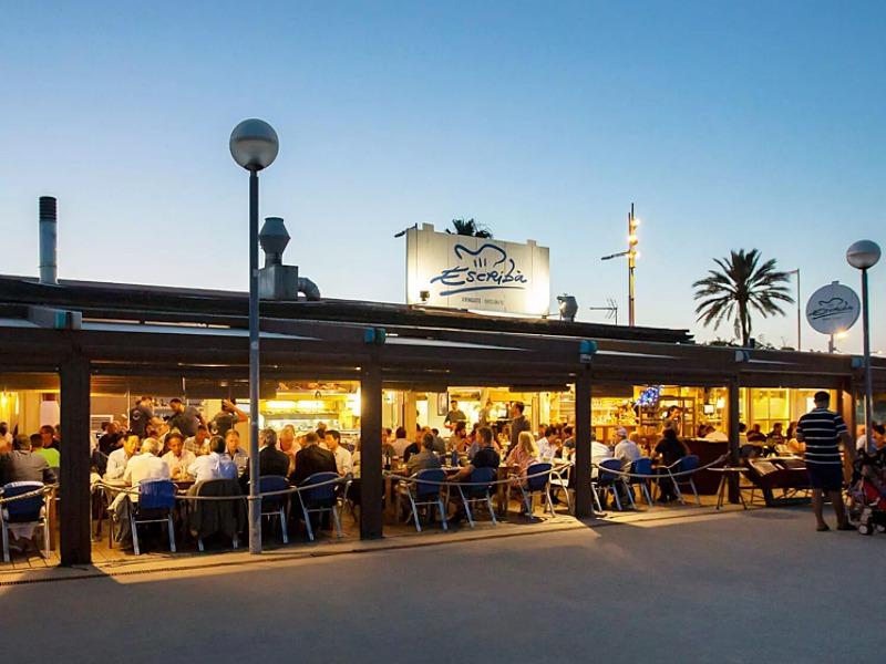本場スペインで一番のシーフード料理店