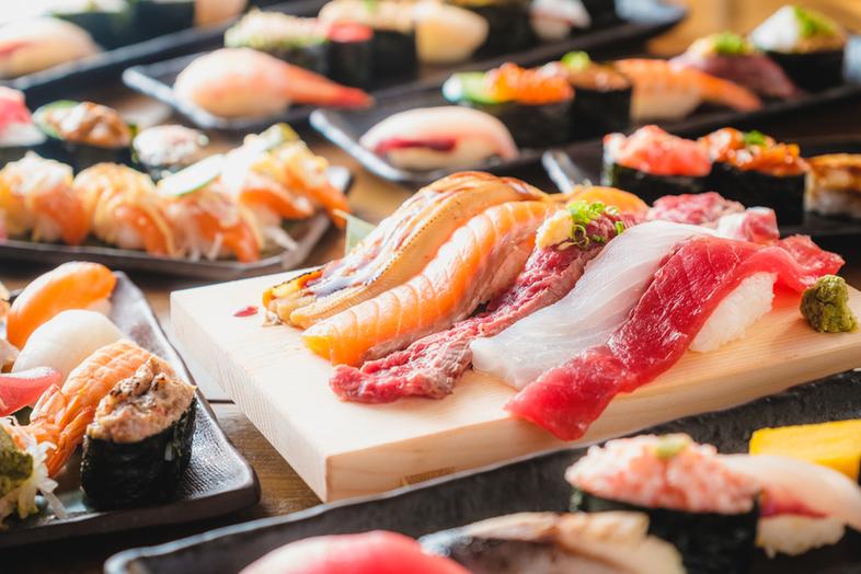 全50種のお寿司食べ放題は2,999円(税抜)