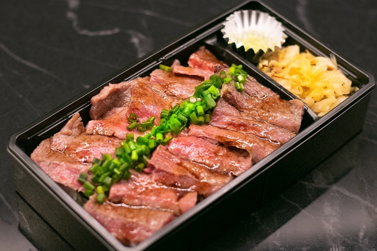 黒毛和牛ステーキ弁当