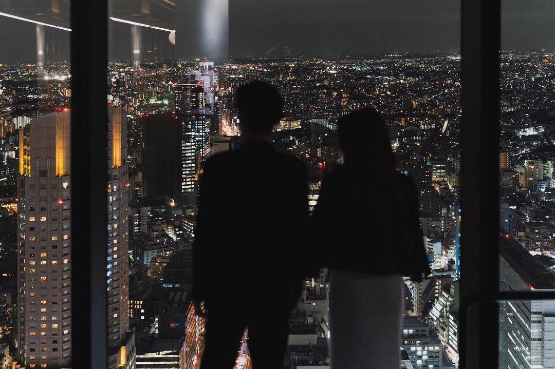 夜景が楽しめるデートスポットとしても人気!