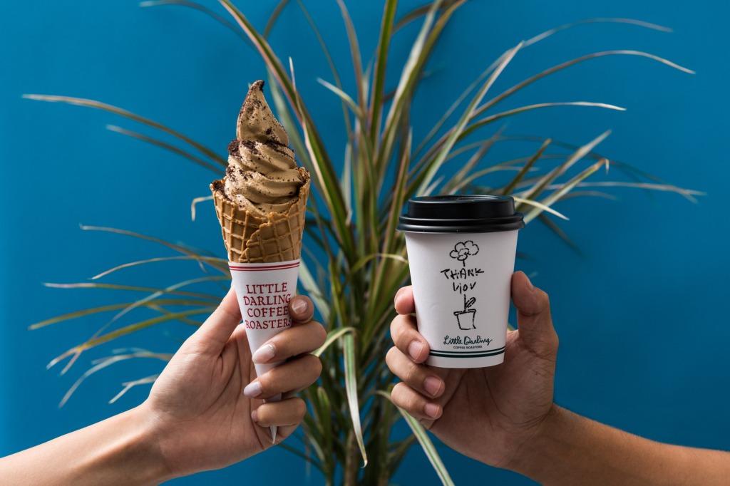 香り高いこだわりのコーヒーソフトクリーム!